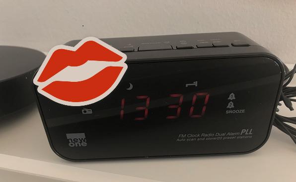 Elsker clockradio